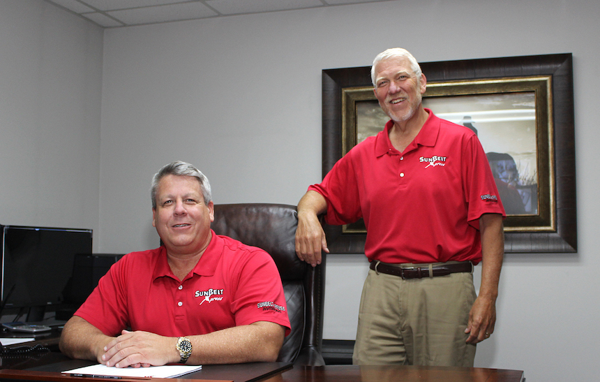 Two SunBelt executive team members